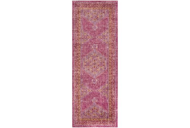 35X94 Rug-Mckenna Bright Pink/Orange - 360