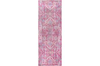 35X94 Rug-Gypsy Bright Pink