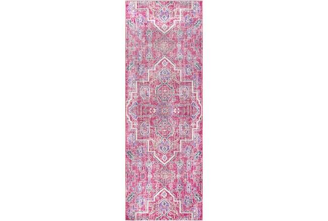 35X94 Rug-Gypsy Bright Pink - 360