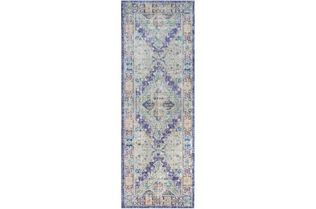 35X94 Rug-Odette Purple/Teal