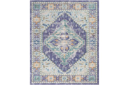 108X157 Rug-Odette Purple/Teal