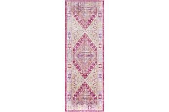 35X94 Rug-Odette Bright Pink