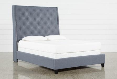 Gabriel Queen Upholstered Panel Bed