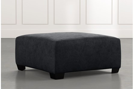 Karen II Black Cocktail Ottoman