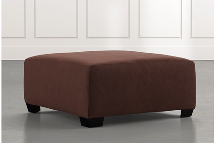 Karen II Dark Brown Cocktail Ottoman