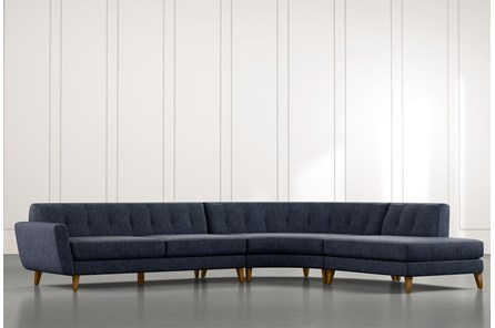 Chill II Navy Blue Sectional