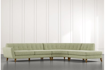 Chill II Green Sectional