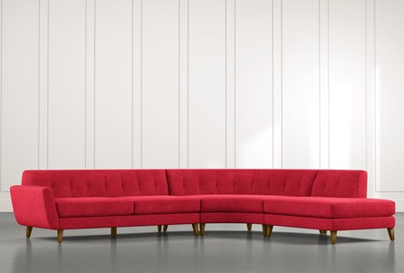 Chill II Red Sectional