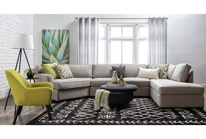 Fantastic Aspen Sterling Foam 3 Piece Sectional With Right Arm Facing Armless Chaise Gmtry Best Dining Table And Chair Ideas Images Gmtryco