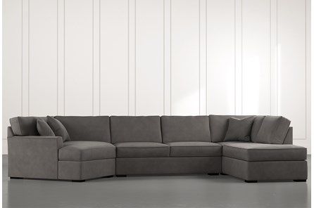 Aspen Dark Grey 3 Piece Sectional