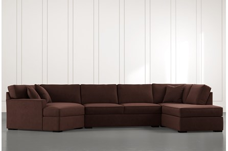 Aspen Brown 3 Piece Sectional