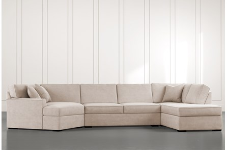 Aspen Beige 3 Piece Sectional
