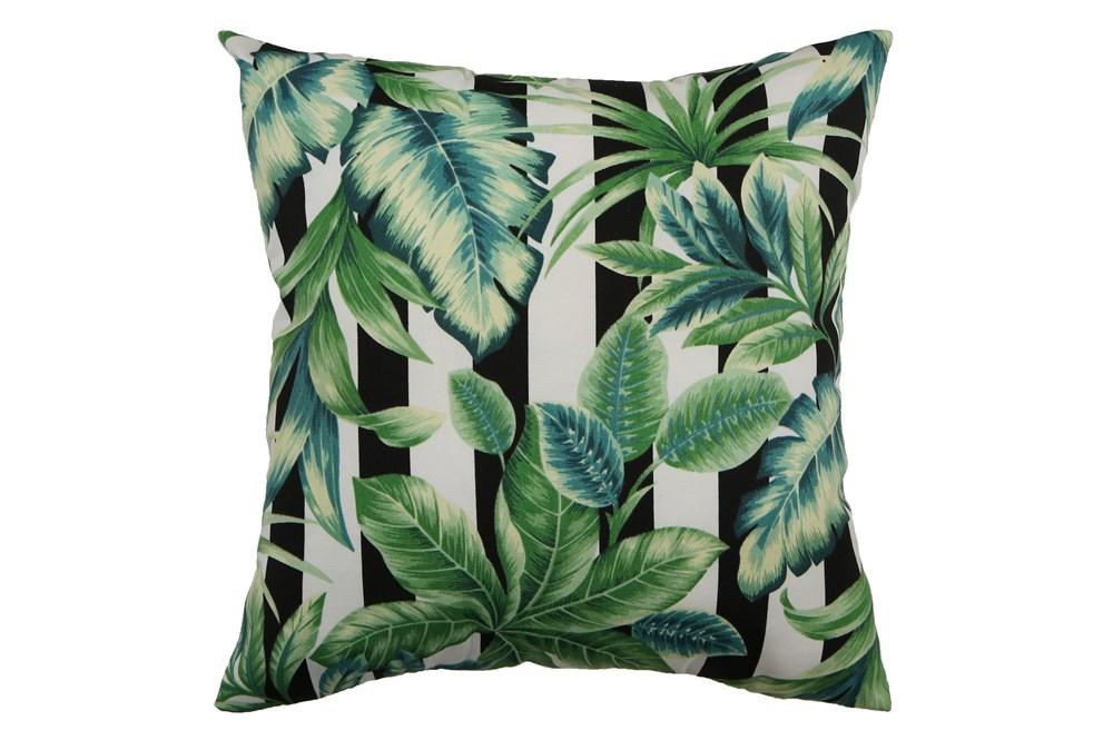 Outdoor Accent Pillow-Palm Cabana Stripe 18X18