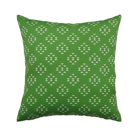 Outdoor Accent Pillow-Green Birdseye 18X18