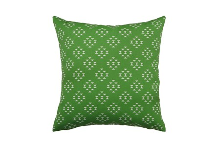 Outdoor Accent Pillow-Green Birdseye 18X18 - Main