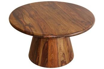 Round Sheesham Coffee Table