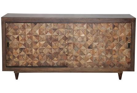Quilted Timber Sliding Door Sideboard