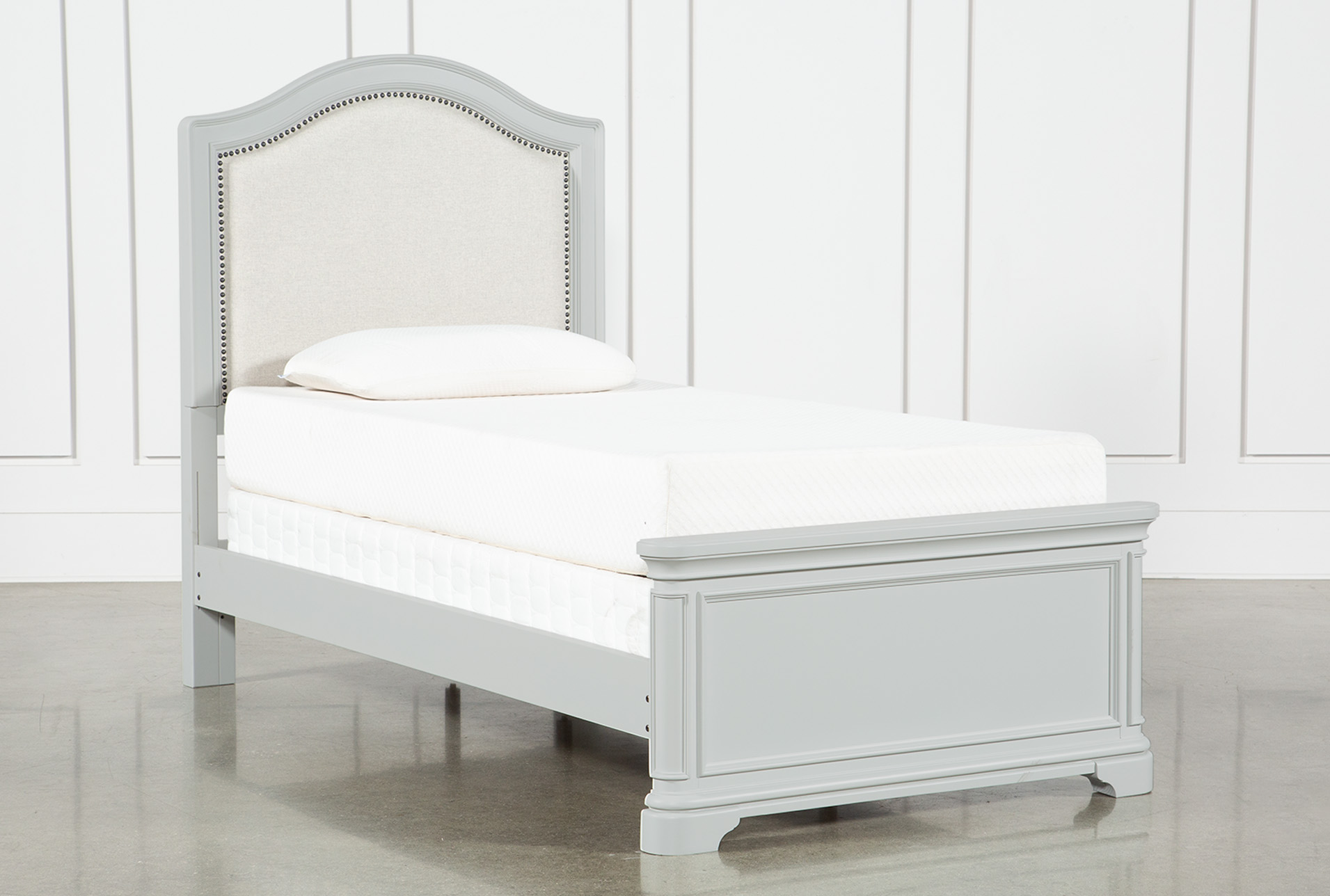 Picture of: Julia Twin Panel Bed Living Spaces