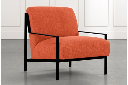 Avery II Orange Accent Chair