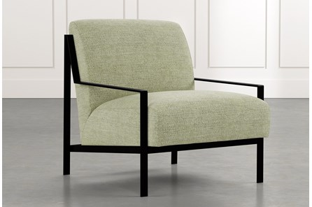 Avery II Green Accent Chair