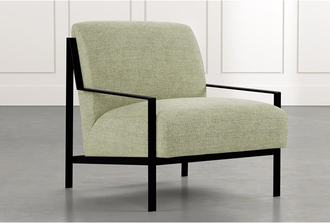 Avery II Green Accent Chair - 360