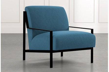 Avery II Teal Accent Chair
