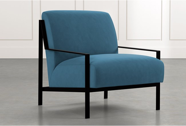 Avery II Teal Accent Chair - 360
