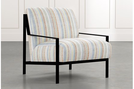 Avery II Multi Striped Accent Chair