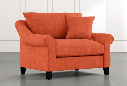 Landry II Orange Chair