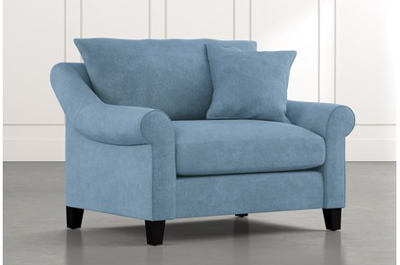 Landry II Light Blue Chair
