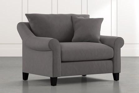 Landry II Dark Grey Chair