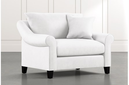 Landry II White Chair