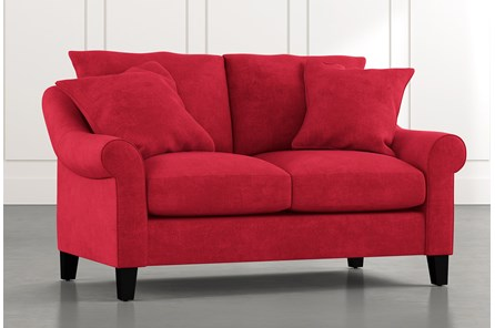 Landry II Red Loveseat