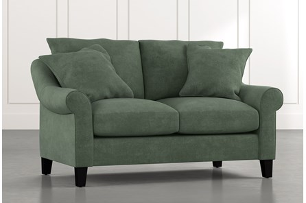 Landry II Green Loveseat