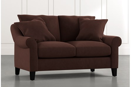 Landry II Brown Loveseat