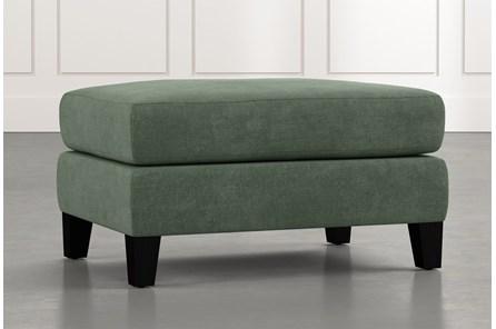Landry II Green Ottoman