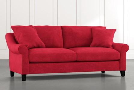 Landry II Red Sofa