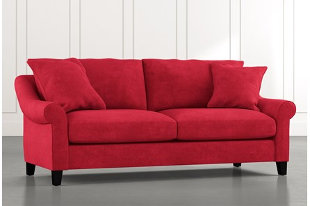 Landry II Red Sofa