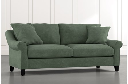 Landry II Green Sofa