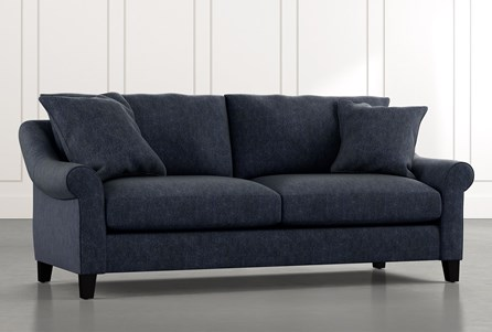 Landry II Navy Blue Sofa