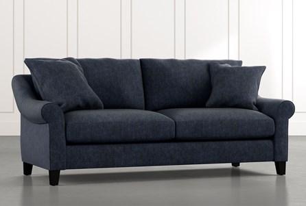 Landry II Navy Blue Sofa