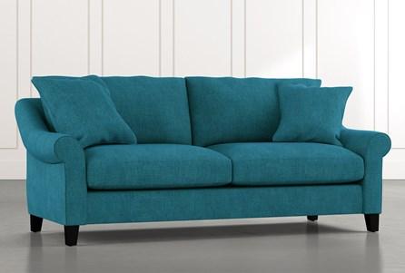 Landry II Teal Sofa