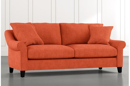 Landry II Orange Sofa