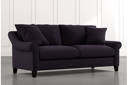 Landry II Black Sofa
