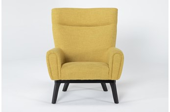 Lounge Yellow Accent Chair