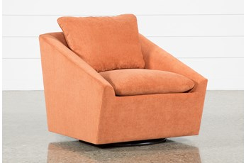 Cypress II Foam Swivel Accent Chair