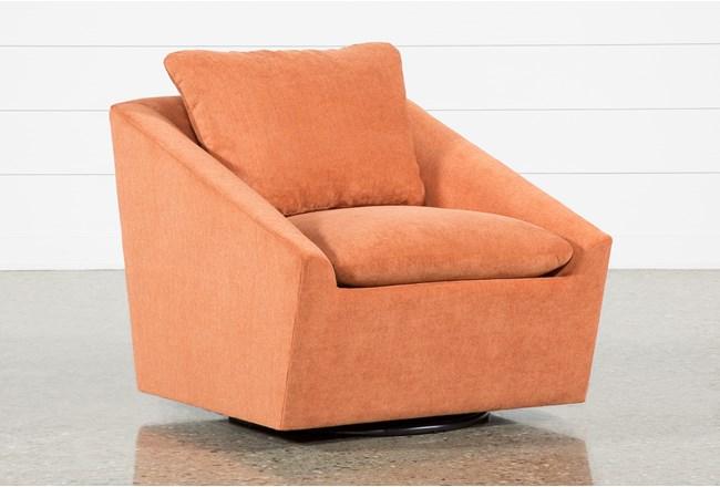 Cypress II Foam Swivel Accent Chair - 360