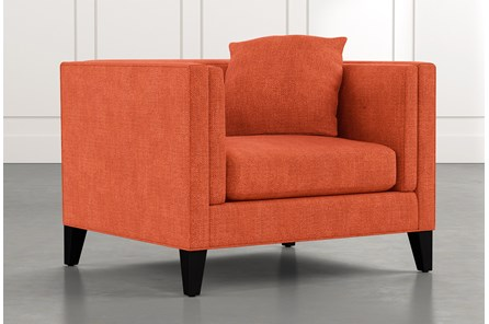 Avery II Orange Arm Chair