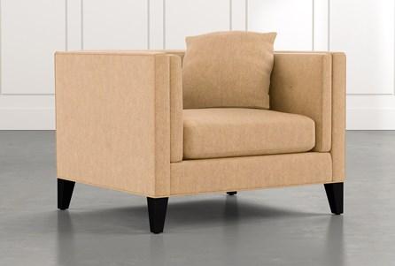 Avery II Yellow Arm Chair