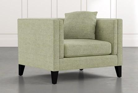 Avery II Green Arm Chair